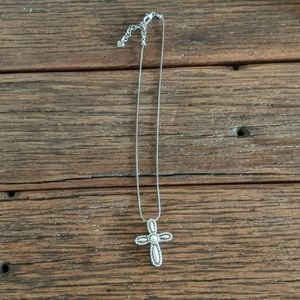 """Brighton cross necklace 16"""""""